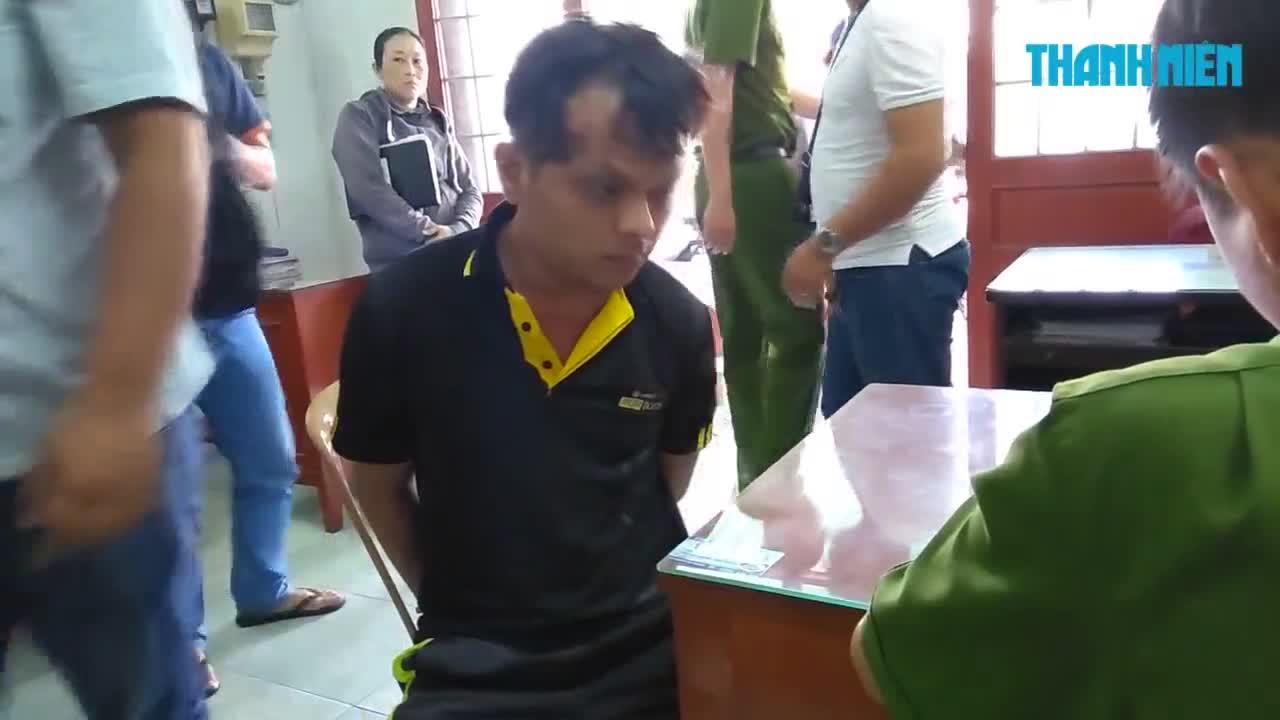 Bắt gọn hai tên cướp xịt hơi cay vào mặt người đi đường cướp gần nửa tỉ đồng ở Tiền Giang