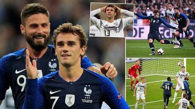 Pháp 2-1 Đức: Chìm trong khủng hoảng!