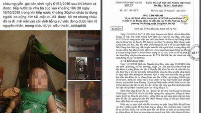 Bé trai 22 tháng tuổi chết thương tâm sau khi truyền dịch: Đình chỉ hoạt động phòng khám tư