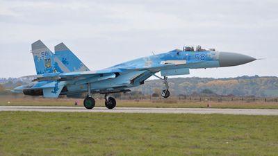 Đi tìm lai lịch chiến đâu cơ Su-27 vừa rơi ở Ukraine
