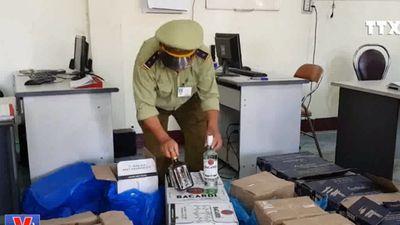 Phú Yên bắt giữ số lượng lớn hàng hóa không rõ nguồn gốc