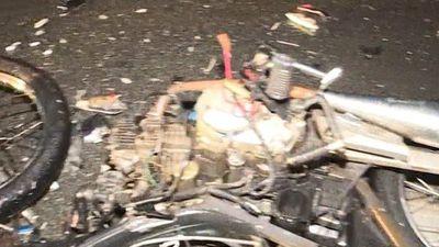 Tai nạn kinh hoàng, nam thanh niên đi xe máy tử vong tại chỗ