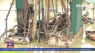 Cát tặc lộng hành trên sông Nậm Rốm, Điện Biên