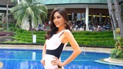 Bùi Phương Nga tỏa sáng với màn hất tóc xuất thần khi trình diễn bikini tại Miss Grand 2018