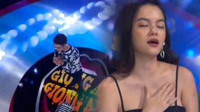 Thí sinh hát ca khúc của Wanbi Tuấn Anh khiến Phạm Quỳnh Anh khóc
