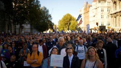 Toàn cảnh cuộc biểu tình phản đối Brexit lớn nhất nước Anh