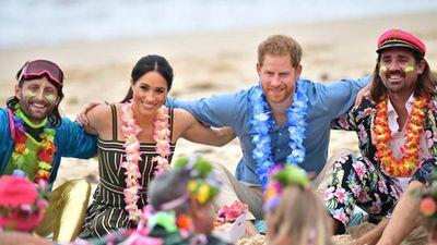 Loạt hình ấn tượng chuyến công du Australia của vợ chồng Hoàng tử Harry