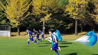 ĐT Việt Nam tích cực tập luyện chuẩn bị đọ sức với Incheon United