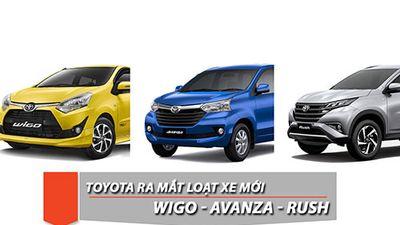 Toyota Wigo, Avanza và Rush sẽ có mặt tại VMS 2018