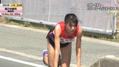 Clip 'Công chúa Ekiden' Nhật Bản bò 200m khiến thế giới 'phát sốt'