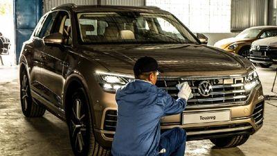 Clip: Chi tiết Volkswagen Touareg 2019 trình làng tại Vietnam Motor Show