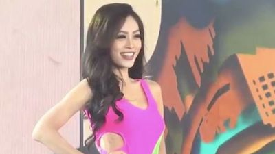 Phương Nga tự tin trình diễn Bikini nóng bỏng tại Miss Grand