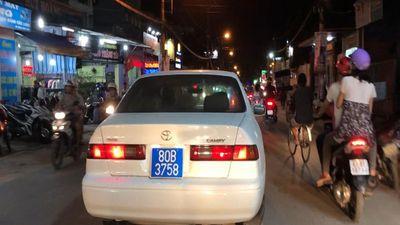 Hé lộ danh tính tài xế xe 80B hụ còi, chạy bạt mạng trên phố Sài Gòn