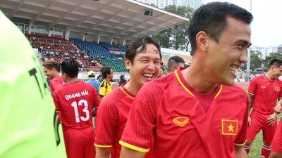 Nhà vô địch AFF Cup 2008 thể hiện đẳng cấp trên sân bóng