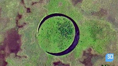 Đảo 'Con mắt' tròn vành vạnh, có khả năng tự xoay kỳ bí bậc nhất thế giới
