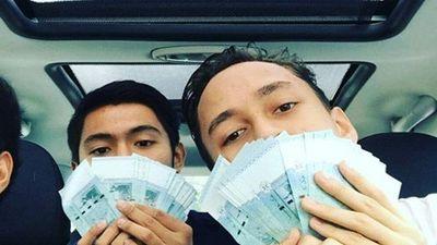 Muôn cách khoe tiền của Hội con nhà giàu Malaysia