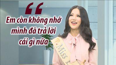 'Sự cố' trong phần thi ứng xử của Hoa hậu Phương Khánh nhưng không ai nhận ra