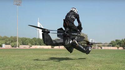 Đã có xe máy biết bay