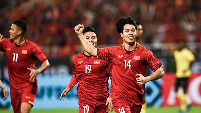 Bàn thắng mở tỷ số của Công Phượng trong trận gặp ĐT Malaysia