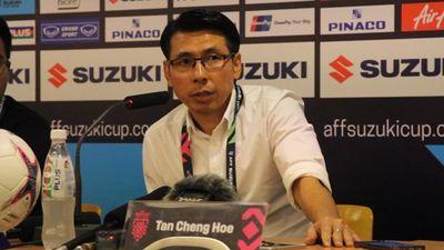 HLV Tan Cheng Hoe: Tuyển Việt Nam quá nhanh khiến hàng thủ Malaysia mắc sai lầm