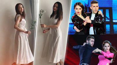 CLIP: 'Nhảy đầm' mừng MV 9 triệu view, Hương Giang chứng tỏ đẳng cấp 'Nữ hoàng Standard'