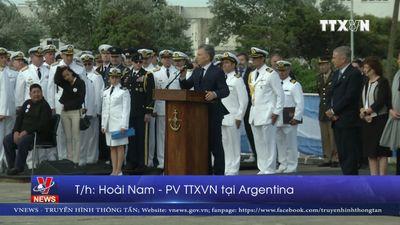 Tìm thấy tàu ngầm Argentina mất tích