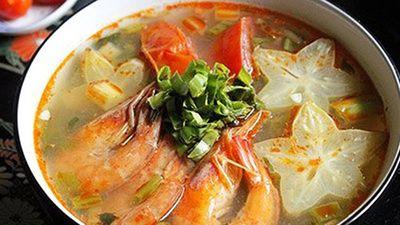 Cách làm canh chua tôm đậm đà thơm ngon, cả nhà cùng khen