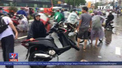 Thiệt hại do mưa lũ ở Khánh Hòa
