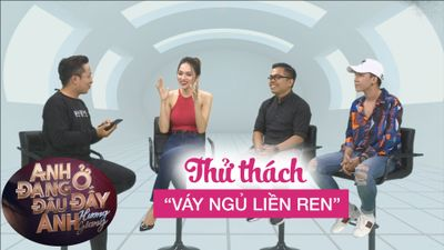 Hương Giang đoán mãi không ra 'váy ngủ viền ren' trong thử thách cùng ê kíp 'triệu view'