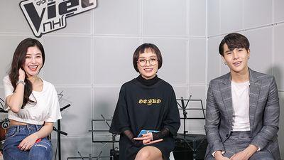 Ngọc Ánh, Gia Nghi, Duy Anh - Khi The Voice 'lớn' đi thi… vòng Giấu mặt - The Voice Kids 2018