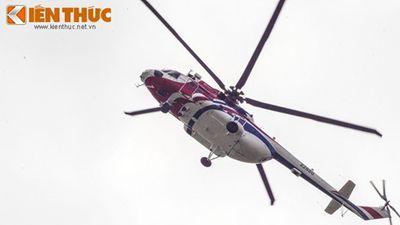 Cái đuôi 'chữ X' kỳ lạ giúp Mi-171A2 nhào lộn trên bầu trời Hà Nội