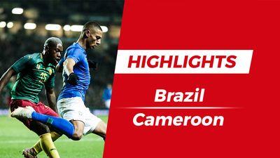Highlights Brazil 1-0 Cameroon: 'Kẻ đóng thế' lên tiếng