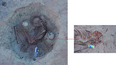 Bí ẩn hài cốt người mẹ sinh con dang dở suốt 3.700 năm