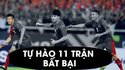Hòa Myanmar, Việt Nam có chuỗi trận bất bại dài nhất thế giới