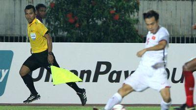 Trọng tài biên bắt việt vị Văn Toàn, từ chối bàn thắng của Việt Nam là ai?