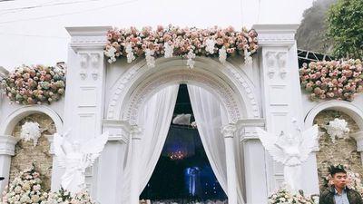 Nhà trai chi 2,5 tỷ đồng cho không gian cưới hoàng gia ở Cao Bằng?