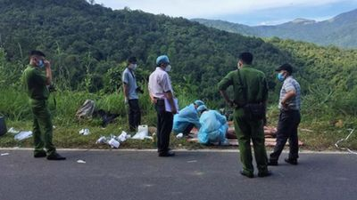 NÓNG: Bắt nghi can vụ giết người, vứt xác dưới đèo do ghen tuông
