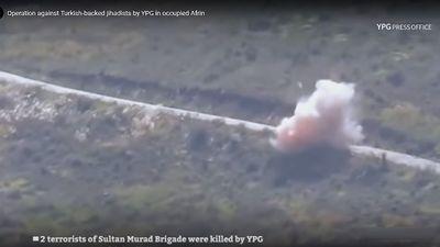 Du kích bí mật Kurd liên tiếp tấn công phá hủy xe cơ giới, diệt chiến binh 'nổi dậy'
