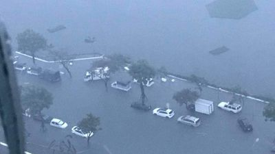Những hình ảnh gây sốc trong trận mưa lịch sử ở Đà Nẵng