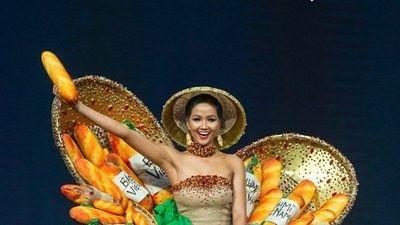 H'Hen Niê tự tin trình diễn 'Bánh mì' trên sân khấu Hoa hậu Hoàn vũ 2018