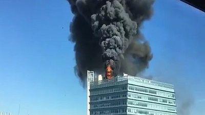 Cháy lớn tại Văn phòng Google ở Trung Quốc