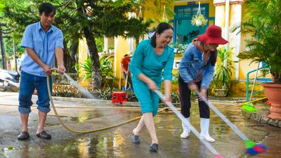 Dân Quảng Nam dồn sức khắc phục hậu quả mưa lũ