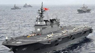 Nhật chuẩn bị 'biến hình' khu trục hạm thành tàu sân bay?