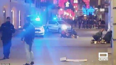 Hiện trường xả súng đẫm máu tại chợ Giáng sinh ở Pháp