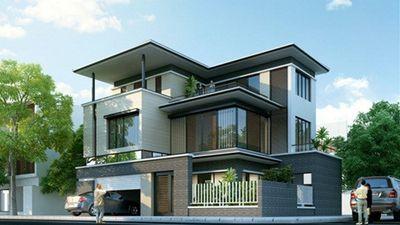 10 mẫu biệt thự 3 tầng mái bằng trên 1 tỷ đồng