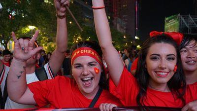Tuyển Việt Nam 'rơi' chiến thắng trước Malaysia, người Sài Gòn vẫn vui, vẫn hài lòng