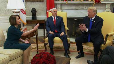 Tổng thống Trump tranh cãi 'nảy lửa' với lãnh đạo đảng Dân chủ