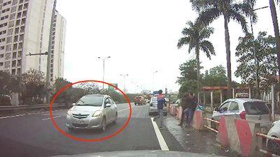 Ô tô đi ngược chiều cao tốc Pháp Vân - Cầu Giẽ, dân mạng phẫn nộ đòi truy xử lý đến cùng