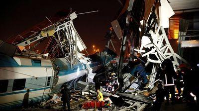 Tai nạn tàu hỏa ở Thổ Nhĩ Kỳ
