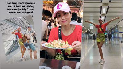 Sau quốc phục Bánh Mì và dép tổ ong ở Miss Universe, H'Hen Niê lại quảng bá Việt Nam bằng một thứ chỉ 50 nghìn